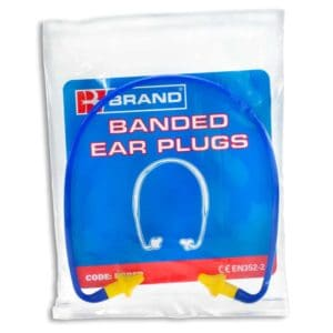 B-Brand Branded Ear Plugs (Pack of 40)