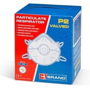 P2 Valved Mask (Pack of 10)