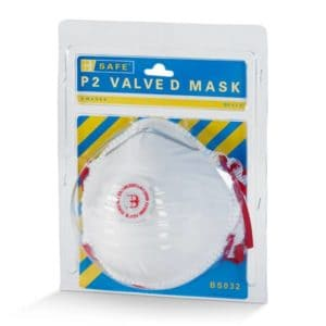 Pre Pack P2 Valved Mask (3 Per Pack)