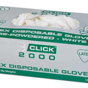 Latex Gloves Disposable (Box of 1000 Pairs)