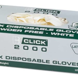 Latex Gloves Powder Free (Box of 1000 Pairs)