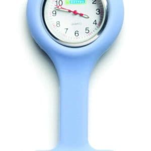 Oxypas Silicone Fob Watch in Light Blue