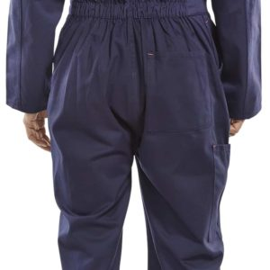 Click Cotton Boilersuit – Navy