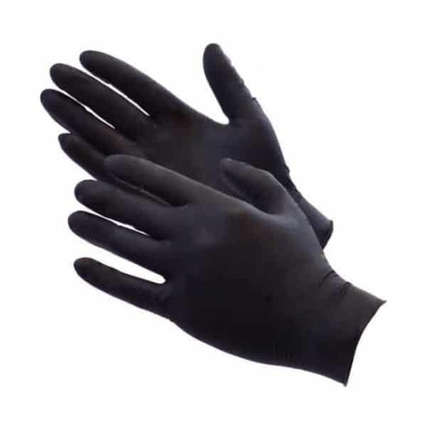Aurelia Bold Black Disposable Nitrite Gloves
