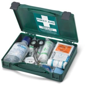 CLICK MEDICAL TRAVEL BS8599-1 FIRST AID KIT