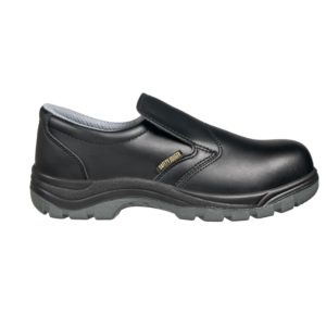 X0600 S3 SRC Black Slip-on Safety Shoe by Safety Jogger