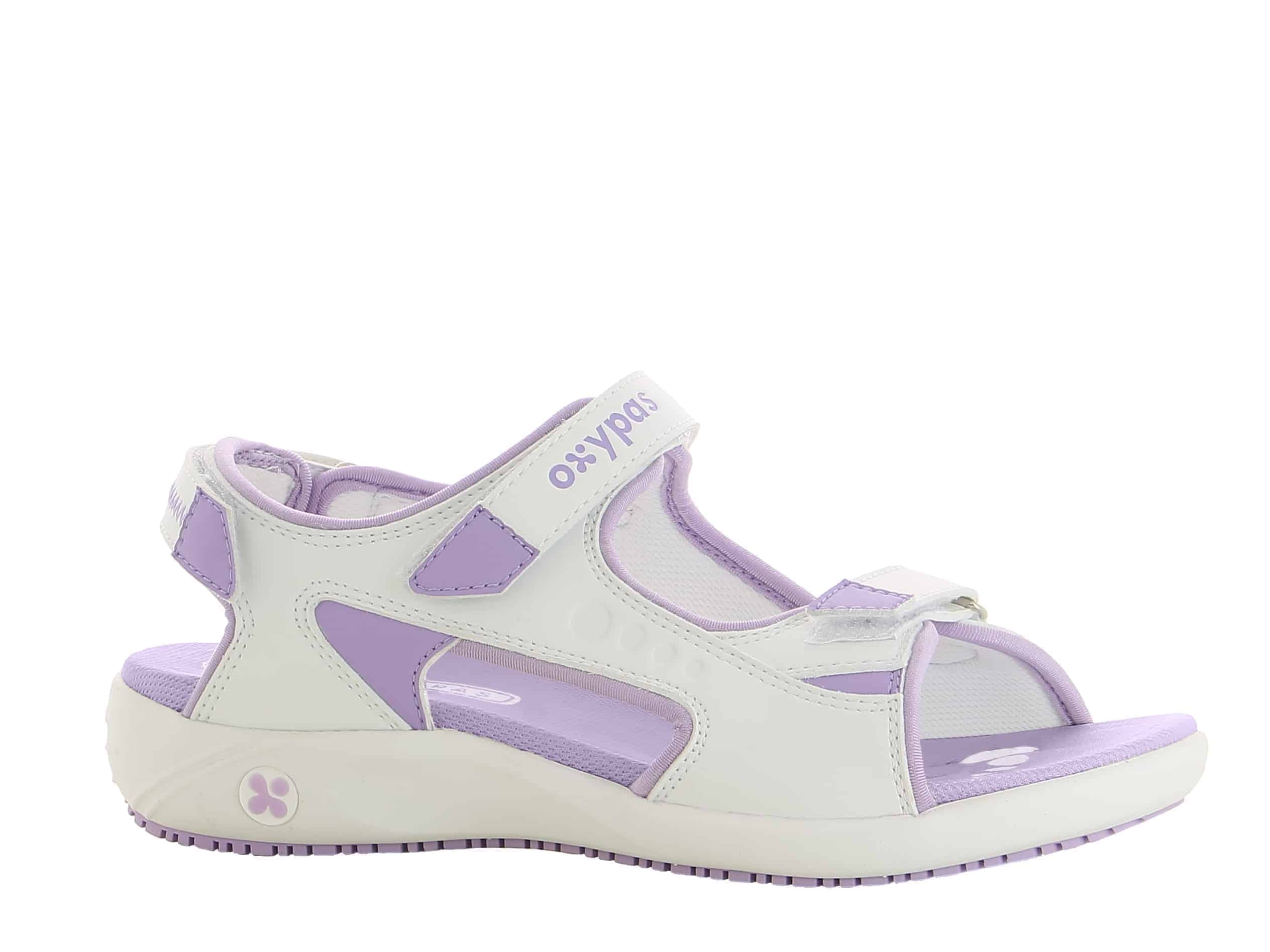 White with Lilac