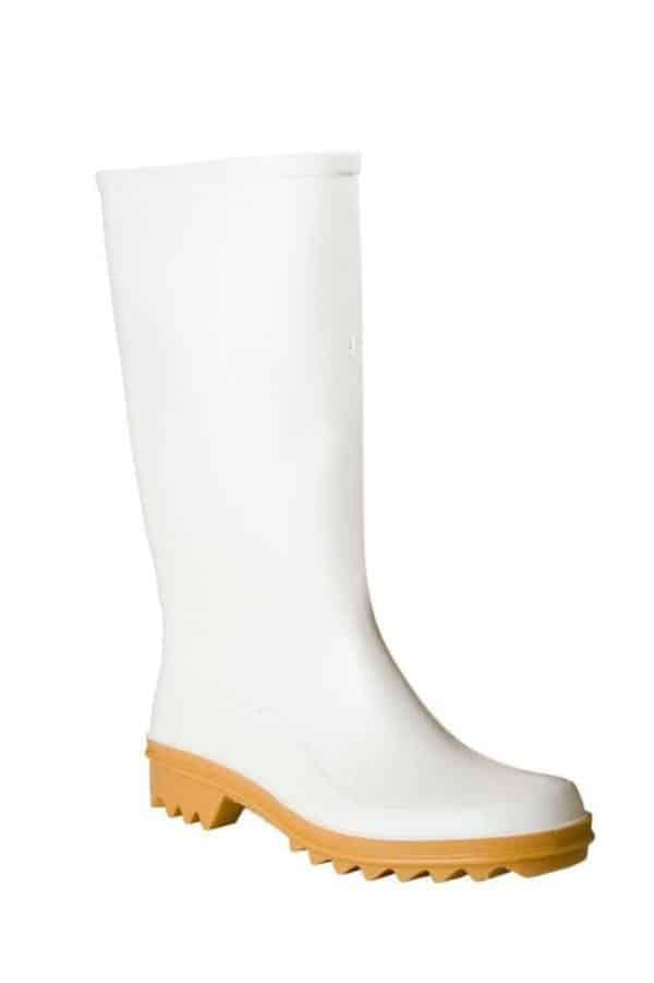 White Wellington Boot