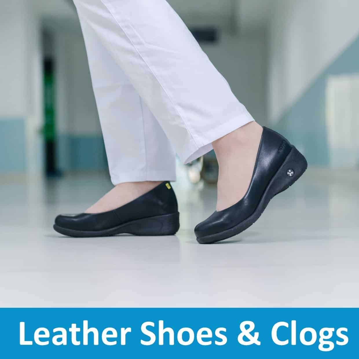 Leather Shoes & Clogs