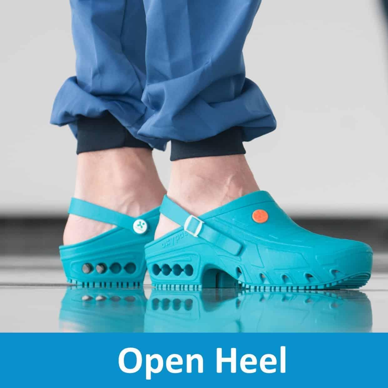 Open Heel Shoes