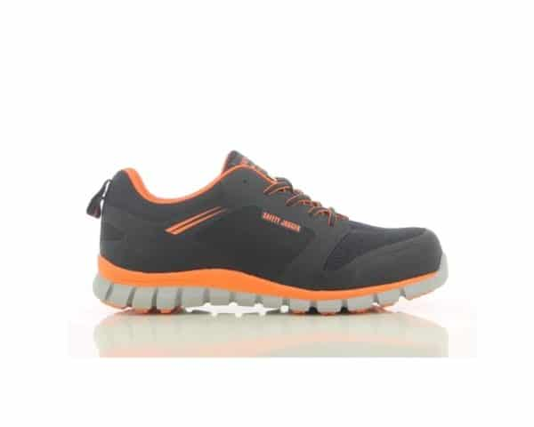 Safety Jogger, Safety Jogger Ligero, Ligero, technomesh, techno mesh, mesh lining, antistatic, puncture resistant sole, shock proof, antislip, nano carbon,