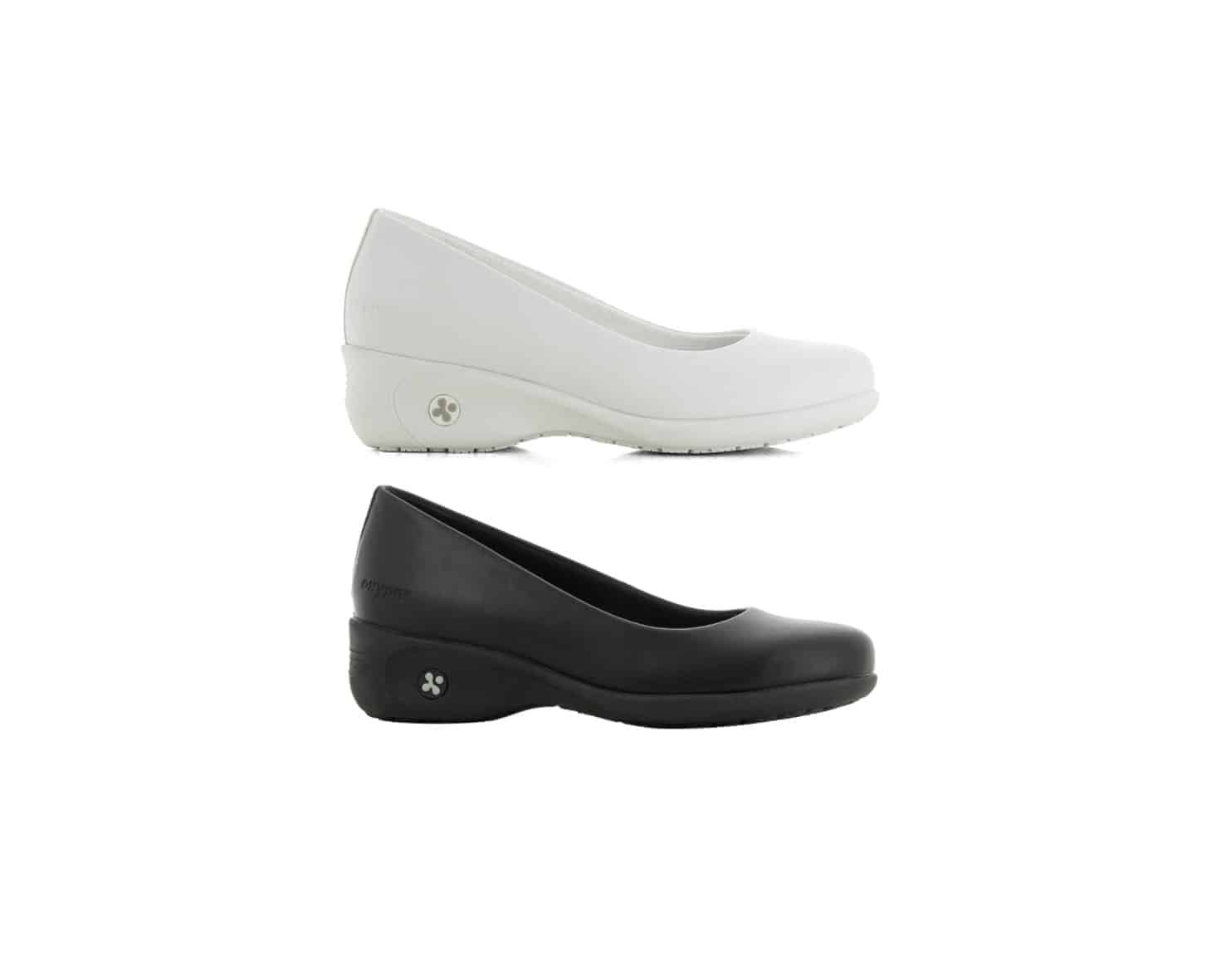 Oxypas 'Colette', Slip-on, Anti-slip, Anti-static, Court Style Nursing Shoe