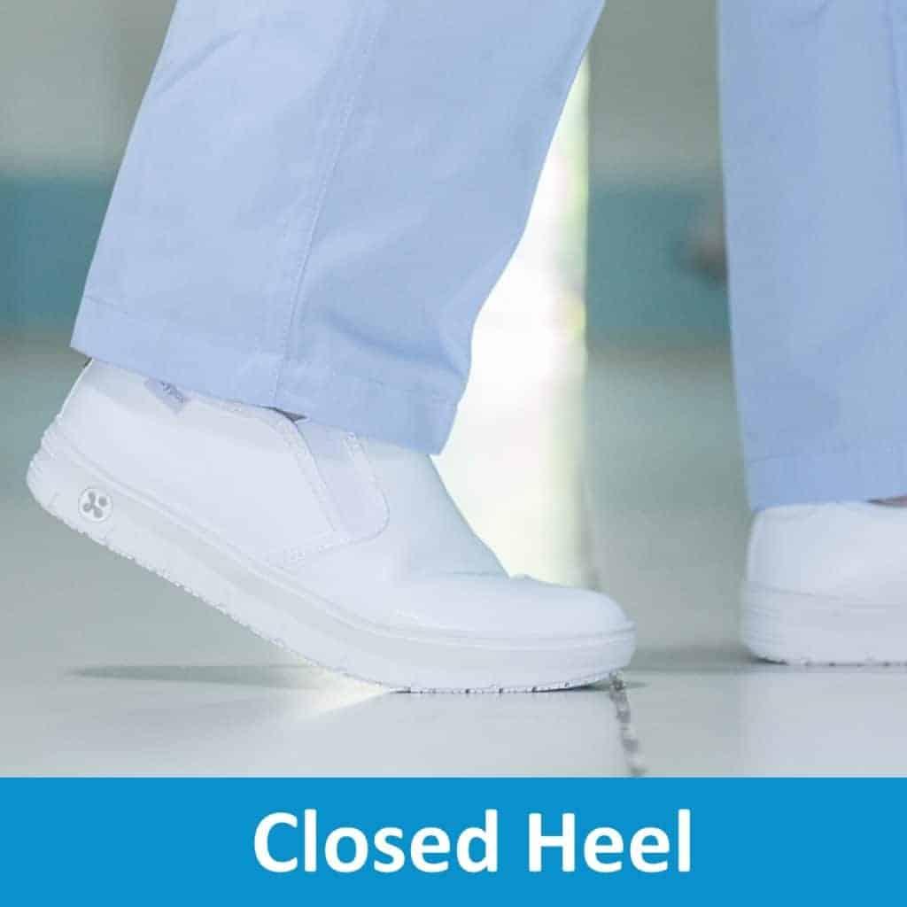 Closed Heel Nursing Shoes