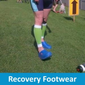 Recovery Footwear for Sport or Injury