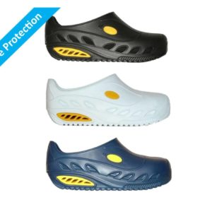 Safelite A.W.P Clogs with Composite Toecap, Anti-slip and Anti-static ISO 20345-46-47