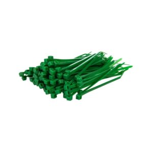 Green Cable Ties – Pack of 100 – 3 Sizes to Choose From