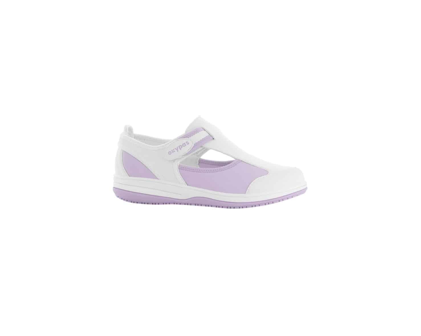 Oxypas Medilogic 'Candy' Comfortable Anti-slip, Anti-static, Washable Nursing Shoe
