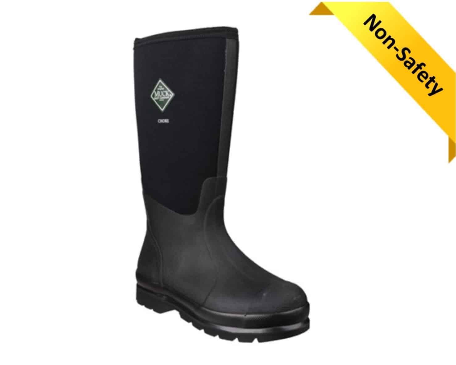 Chore Classic Unisex Muck Boot in Black