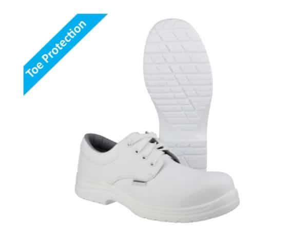 FS511 White Safety Shoes with Composite Toe Protection