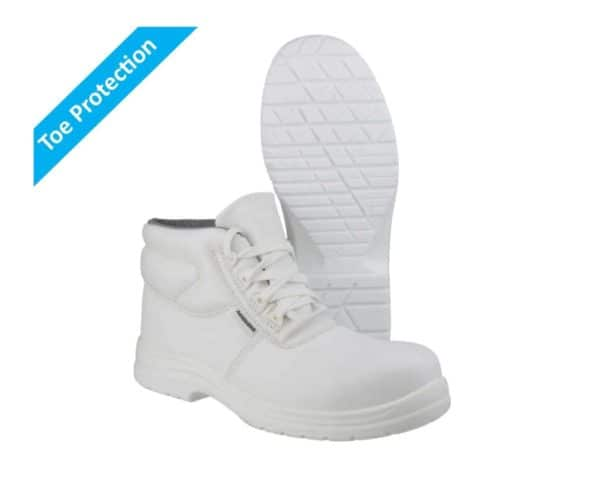 White safety Boots