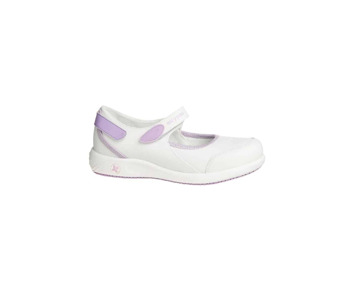 Oxypas Move Nelie, Leather, Mary-Jane Style Nursing Shoe