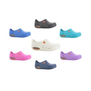 Oxypas OXYVA Lightweight, Washable, Anti-slip, Anti-static EVA Nursing Clogs from Safety Jogger Professional