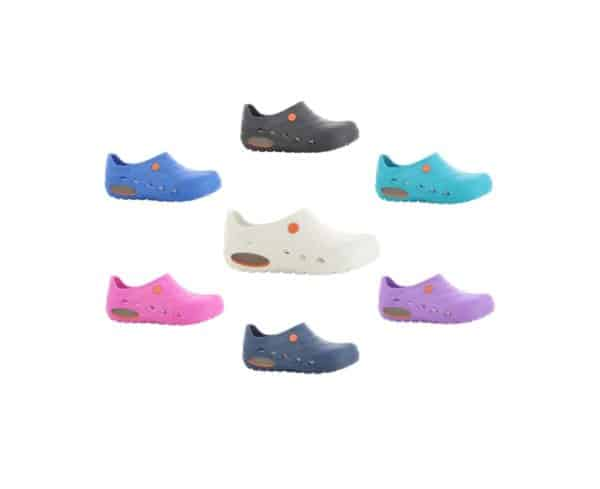 Oxypas OXYVA Lightweight, Washable, Anti-slip, Anti-static EVA Nursing Clogs