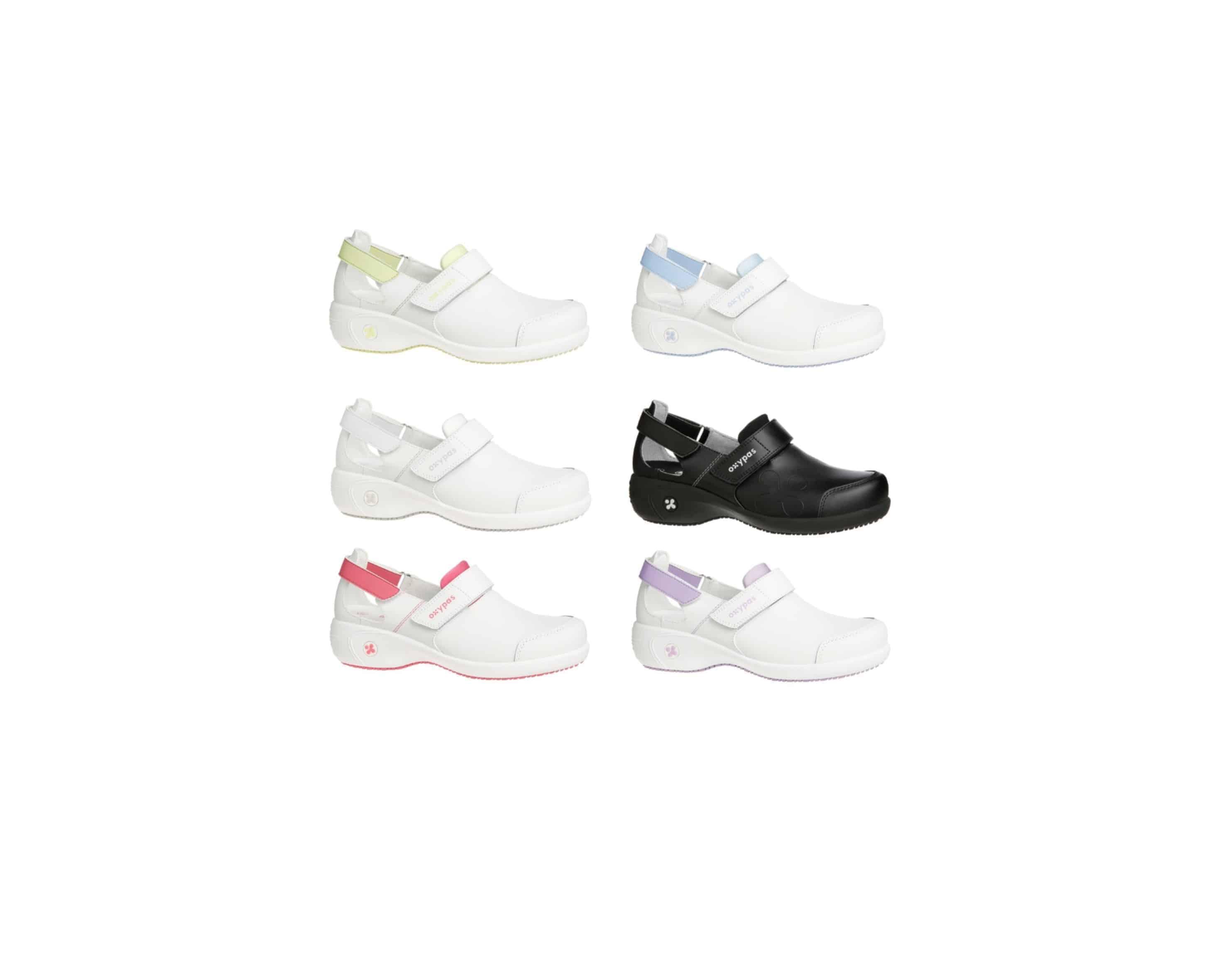 Oxypas Move Up Salma Leather Nursing Shoe