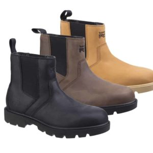 Timberland Professional 'Sawhorse Dealer' Chelsea Style Safety Boots S3 SRC