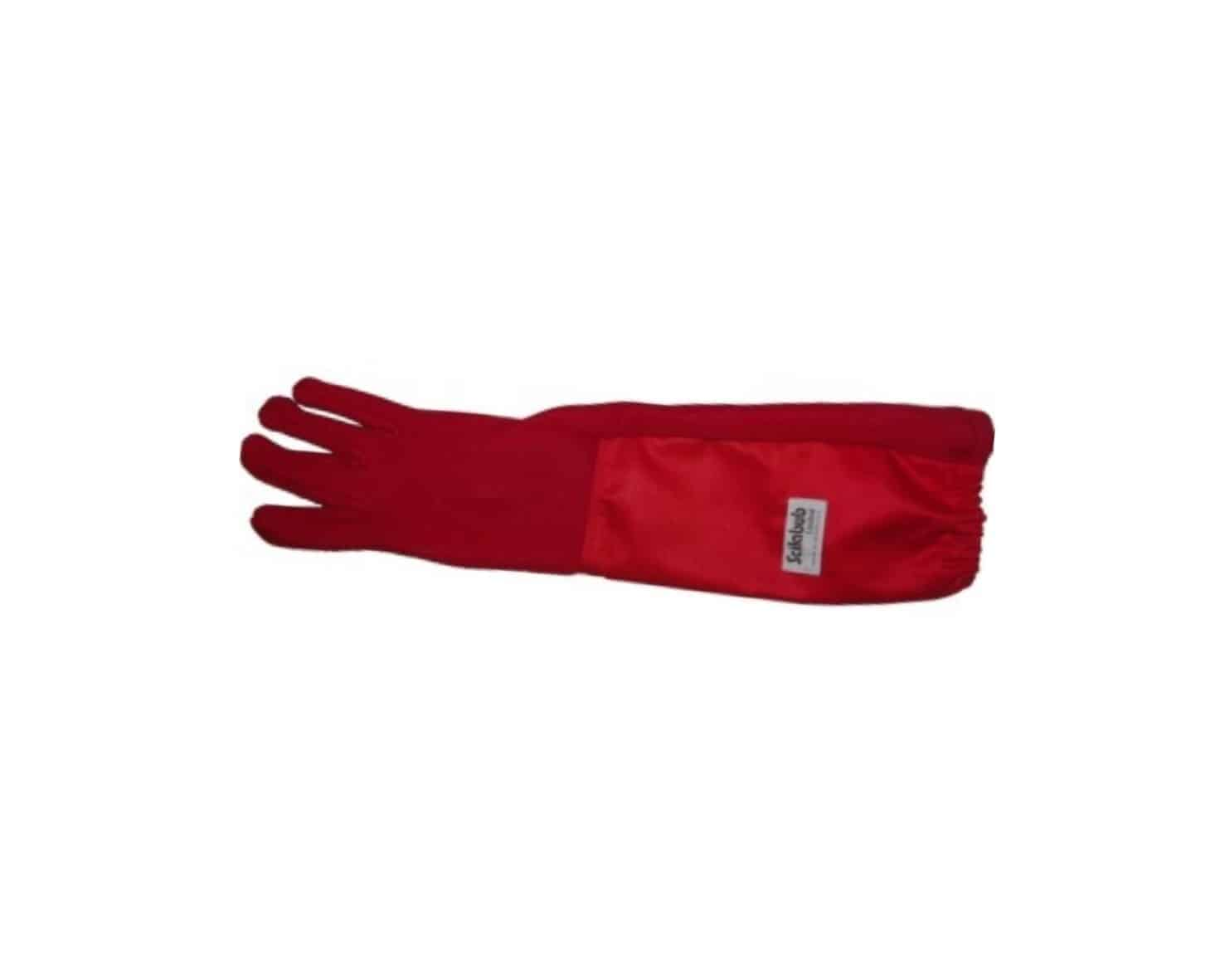 Scilabub® Nomex® 7154C Autoclavable Gauntlet Gloves in Red