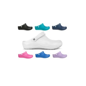 Oxypas 'Smooth' Washable, Anti-slip, Anti-static Nursing Clog from Safety Jogger Professional
