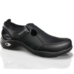 Oxypas Ultralight 'Miranda' Anti-slip, Anti-static, Washable Nursing Shoes with Velcro Strap