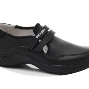 Oxypas Ultralight Orelia Nursing Shoes with Velcro Strap, Anti-slip and Anti-static