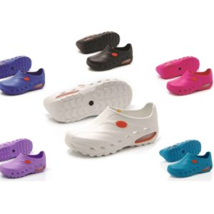 Oxypas Dynamic – Washable Theatre Shoes, Anti-slip, Anti-static Nursing Shoes. Helps with Plantar Fasciitis, Leg or Back Pain ISO 20345-46-47