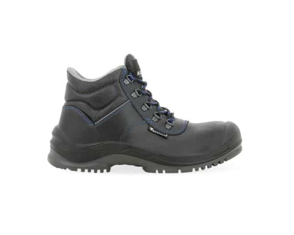 C410 Maxguard Black Leather Safety Boot