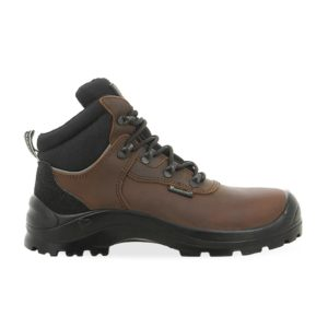 Maxguard C460 S3 SRC Brown Leather Safety Boot