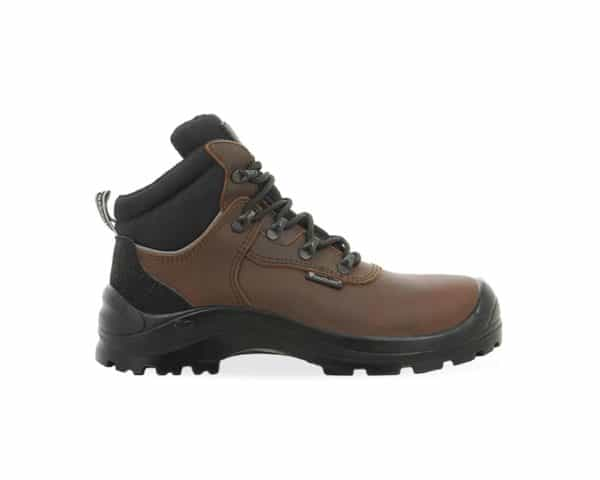 C460 Maxguard Brown Leather Safety Boot