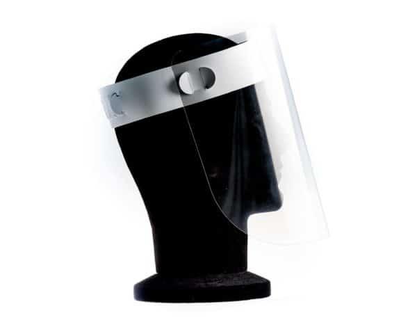 CV15 Face Shield Visor Side View