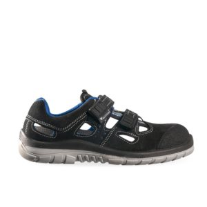 Maxguard P190 S1 SRC ESD Suede Safety Shoe with Velcro