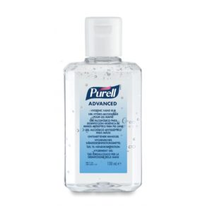 Purell Advanced Hand Rub 6 x 100ml Hand Sanitiser