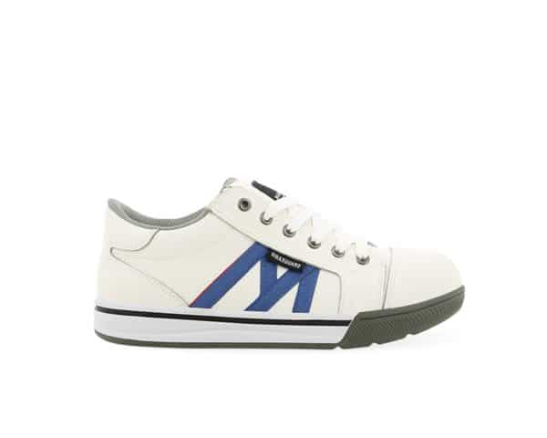 S036 White Safety Shoe S3