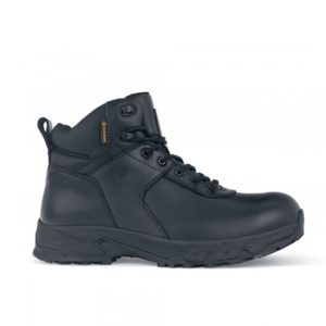 Shoes for Crews Boots Stratton III O2 WR SRC Slip-Resistant Boot for Men
