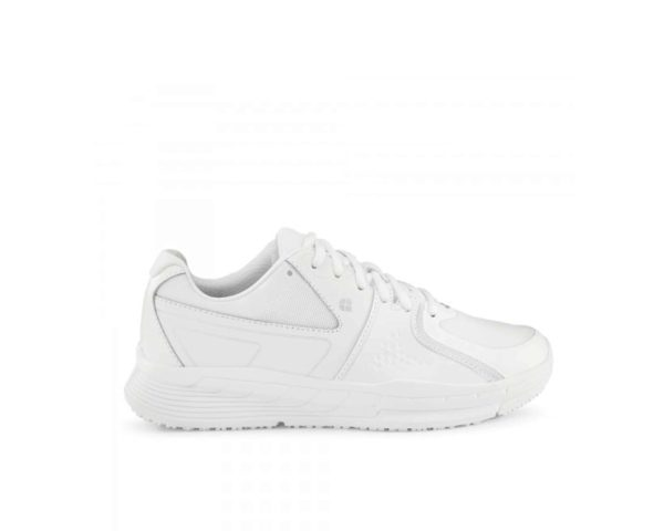 Condor slip-resistant shoes for ladies in white