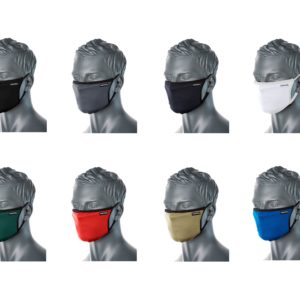 CV30 Comfortable 3-Ply Reusable Fabric Face Masks Various Colours to Choose From
