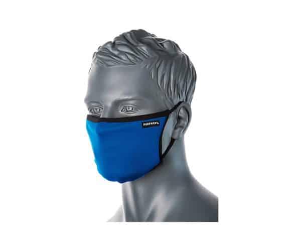 CV30 3 Ply Reusable Face Mask Royal Blue