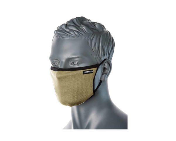 CV30 3 Ply Reusable Face Mask Stone