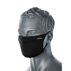 CV33 3-Ply Fabric Reusable, Adjustable, Anti-Microbial Face Masks
