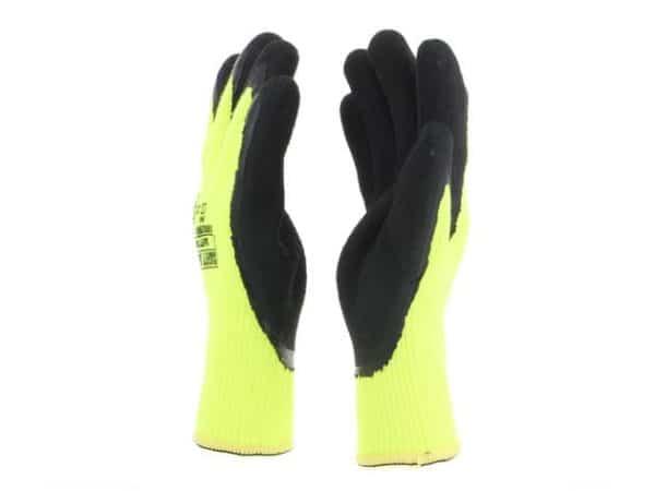 CONSTRUHOT Warm Hi-Vis Safety Gloves