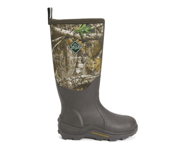 Woody Max Unisex Tall Muck Boots in Woodland Camouflage