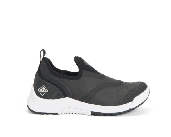 Women's Muck Boot Outscape Slip-On Shoe in Black